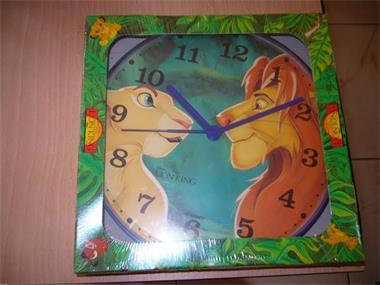 Grote foto nieuwe klok van the lion king kinderen en baby inrichting en decoratie