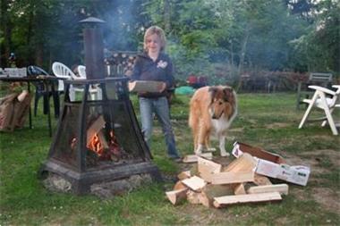 Grote foto knus chalet in ardennen huren barvaux durbuy vakantie belgi