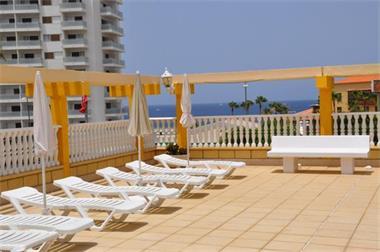 Grote foto tenerife playa las americas app. aan het strand vakantie spanje