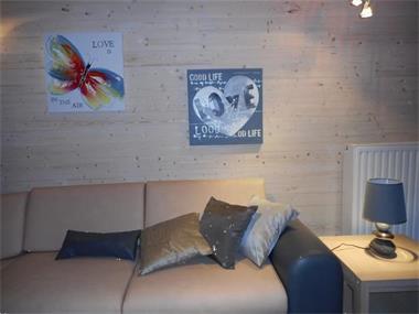 Grote foto nieuwe luxe chalet 2015 met sauna 8p hond ok. vakantie belgi