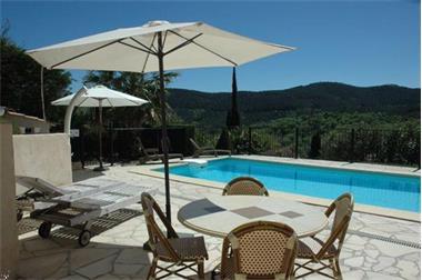 Grote foto mooie villa provence nabij c te azur. vakantie frankrijk