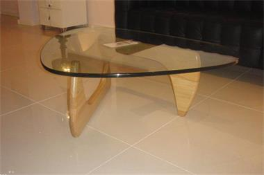 Glazen Houten Salontafel.Salontafel Noguchi Design Glas Hout Tafel Kopen Salontafels
