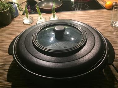 Grote foto party pan huis en inrichting keukenapparatuur