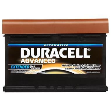 Grote foto duracell startbatterij 12v 80ah auto onderdelen accu en toebehoren