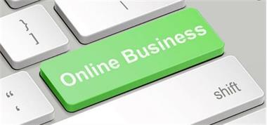Grote foto online business consulting diensten en vakmensen zakelijk adviseurs en bemiddelaars