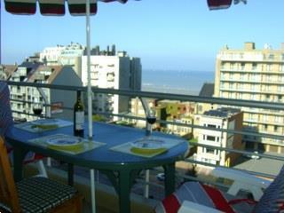 Grote foto midweek juni zeezicht appartement nieuwpoort wifi vakantie belgi