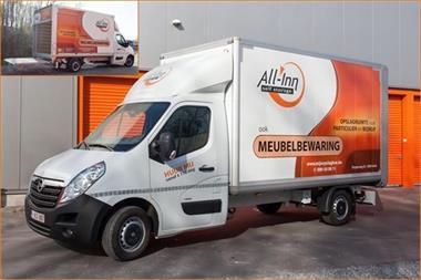 Grote foto bestelwagen te huur rbw b genk diensten en vakmensen verhuizers en opslag