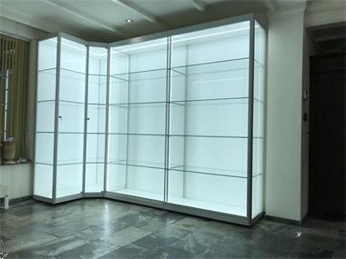 Grote Glazen Vitrinekast.Vitrine Van Glas Winkelvitrine Glazen Vitrine Kopen Vitrinekasten