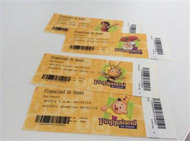 Grote foto 4 tickets plopsaland de panne tickets en kaartjes pretparken en attractieparken