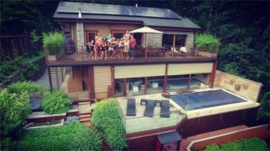 Grote foto ardennen durbuy te huur lux wellness villa vakantie belgi