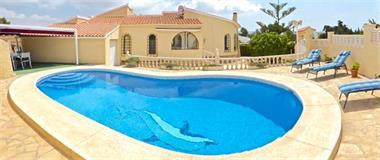 Grote foto villa met prive zwembad costa blanca vakantie spanje