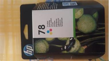 Grote foto hp tricolor nr 78 inktcartridge te koop computers en software inktcartridges