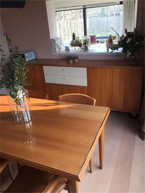 Grote foto moderne eettafel stoelen optioneel buffetkast huis en inrichting eettafels