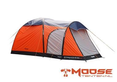 Grote foto moose air tent opblaasbare tent type 2040 oranje caravans en kamperen tenten