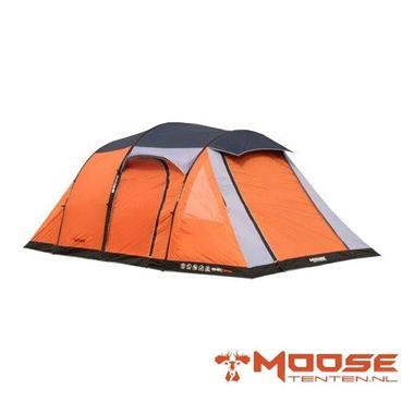 Grote foto moose air tent opblaasbare tent type 2050 oranje caravans en kamperen tenten
