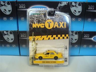 Grote foto greenlight 1 64 ford crown victoria taxicab nyc hobby en vrije tijd overige schalen