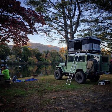 Grote foto daktenten james baroud caravans en kamperen tenten