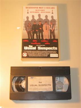 Grote foto vhs the usual suspects stephen baldwin audio tv en foto videofilms