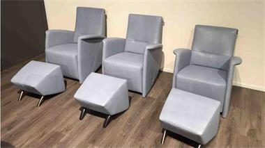 Grote foto relax fauteuils met hocker haveco opruiming huis en inrichting fauteuils