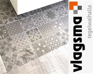Portugese Tegels Patchwork : Vives tassel portugese tegels grijs of beige kopen tegels