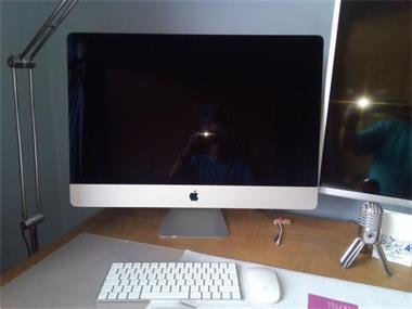Grote foto apple mac 27 5k quad core i7 fusion 1tb computers en software apple desktops