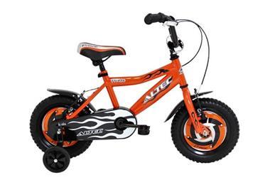 Grote foto prince 12 inch oranje jongensfiets fietsen en brommers kinderfietsen