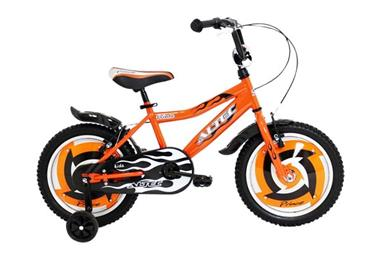Grote foto prince 16 inch oranje jongensfiets fietsen en brommers kinderfietsen