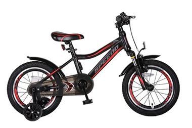 Grote foto speedo 16 inch jongensfiets alu frame mat zwart fietsen en brommers kinderfietsen