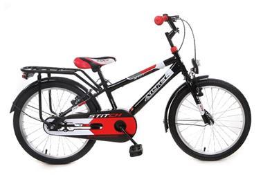 Grote foto altec stitch 20 inch jongensfiets zwart rood fietsen en brommers kinderfietsen