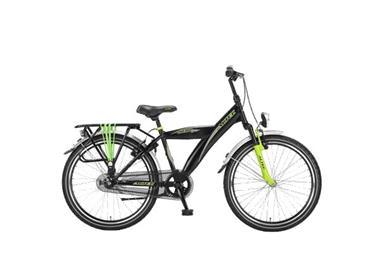 Grote foto altec hero 24 inch jongensfiets lime groen remnaaf fietsen en brommers kinderfietsen
