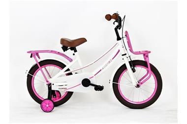 Grote foto nihil altec tuana 16 inch wit meisjesfiets fietsen en brommers kinderfietsen
