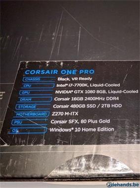 Grote foto gaming pc corsair pro one nieuw computers en software desktop pc
