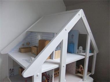 Verwonderlijk Prachtig Groot Wit Houten Poppenhuis Kopen | Houten Speelgoed OI-71