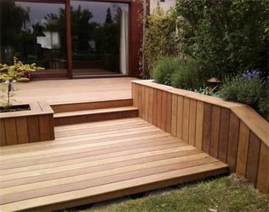 Houten Tegels Tuin : Composiet houten terrasplanken top kwaliteit kopen tegels en
