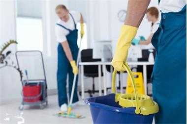 Grote foto alles weer schoon diensten en vakmensen schoonmakers en glazenwassers