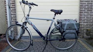 Grote foto elektrische fiets gazelle fietsen en brommers herenfietsen