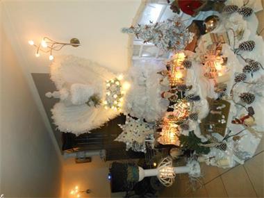 Grote foto te koop kerstversiering witte engel in paspopvorm hobby en vrije tijd overige hobby en vrije tijd