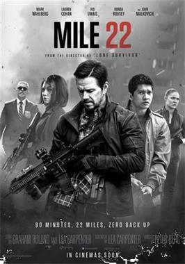 Grote foto duoticket film mile 22 tickets en kaartjes filmkaartjes