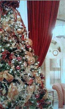 Grote foto versierde kerstboom huren voor uw bedrijf diensten en vakmensen kerst