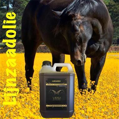 Grote foto lijnzaadolie v sidera 1 liter dieren en toebehoren paarden