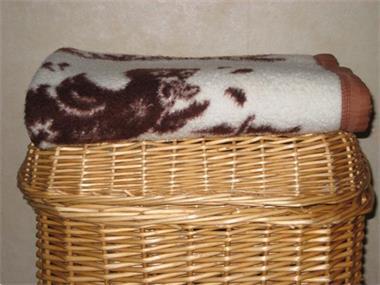 Grote foto knus schattig babydekentje konijntjes eendjes kinderen en baby dekens en slaapzakjes