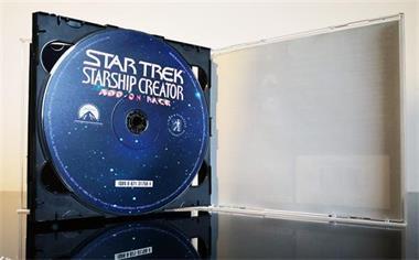Grote foto pc vintage star trek deluxe starship creator spelcomputers games pc
