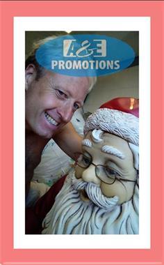 Grote foto arrenslede huren coca cola kerstman gent diensten en vakmensen entertainment