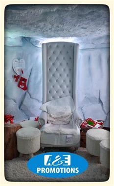 Grote foto sneeuwbalspel arctic blow sneeuwpop gent huren diensten en vakmensen bedrijfsuitjes