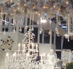 Grote foto versierde kerstbomen vr openbare gebouwen geleverd diversen versiering