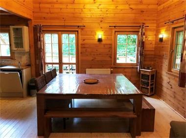 Grote foto in bos gelegen chalet met sauna voor 13 personen vakantie belgi