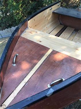 Grote foto zelfbouw houten boot hobby en vrije tijd boten en schepen