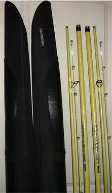 Grote foto 2 strandwerphengels te koop shimano. watersport en boten zeevissen