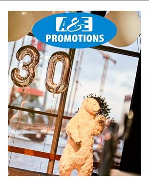 Grote foto huur winter aankleding ijsbeer bewegend gent diensten en vakmensen marketing en reclame