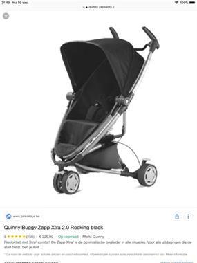 Grote foto quinny zapp extra 2 kinderen en baby kinderwagens